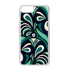 Missoni Spring Summer Apple iPhone 7 Plus White Seamless Case by AnjaniArt