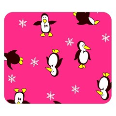 Penguin Double Sided Flano Blanket (Small)  by AnjaniArt