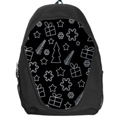 Simple Xmas Pattern Backpack Bag by Valentinaart