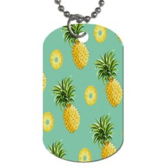 Pineapple Dog Tag (two Sides) by AnjaniArt