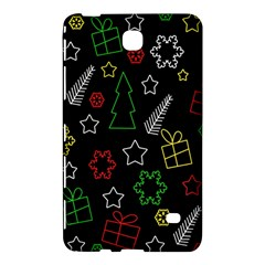 Colorful Xmas Pattern Samsung Galaxy Tab 4 (8 ) Hardshell Case  by Valentinaart