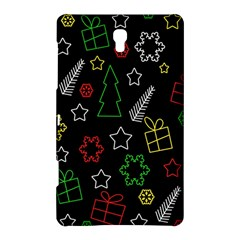 Colorful Xmas Pattern Samsung Galaxy Tab S (8 4 ) Hardshell Case  by Valentinaart