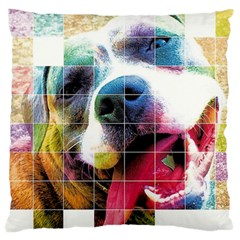 Layla Merch Large Flano Cushion Case (two Sides) by tigflea