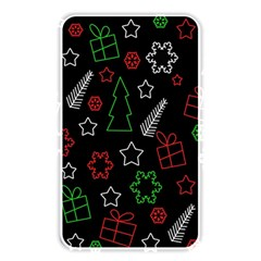 Green And  Red Xmas Pattern Memory Card Reader by Valentinaart