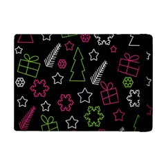 Elegant Xmas Pattern Ipad Mini 2 Flip Cases by Valentinaart