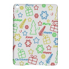 Simple Christmas Pattern Ipad Air 2 Hardshell Cases by Valentinaart