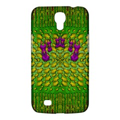 Flowers And Yoga In The Wind Samsung Galaxy Mega 6 3  I9200 Hardshell Case by pepitasart