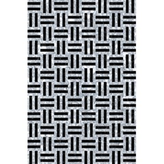 Woven1 Black Marble & Gray Marble (r) 5 5  X 8 5  Notebook by trendistuff