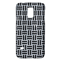 Woven1 Black Marble & Gray Marble (r) Samsung Galaxy S5 Mini Hardshell Case  by trendistuff