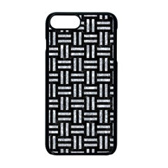 Woven1 Black Marble & Gray Marble Apple Iphone 7 Plus Seamless Case (black) by trendistuff