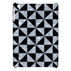 Triangle1 Black Marble & Gray Marble Apple Ipad Mini Hardshell Case by trendistuff