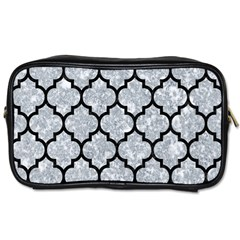 Tile1 Black Marble & Gray Marble (r) Toiletries Bag (one Side) by trendistuff