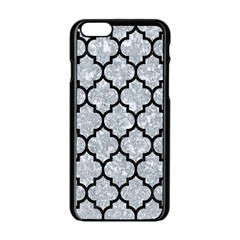 Tile1 Black Marble & Gray Marble (r) Apple Iphone 6/6s Black Enamel Case by trendistuff