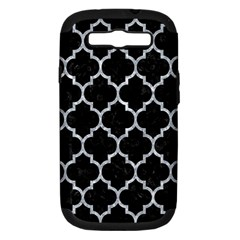 TIL1 BK-GY MARBLE Samsung Galaxy S III Hardshell Case (PC+Silicone) by trendistuff