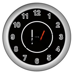 Twenty One Pilots Band Logo Wall Clocks (silver)  by Onesevenart