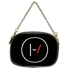 Twenty One Pilots Band Logo Chain Purses (one Side)  by Onesevenart