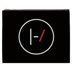 Twenty One Pilots Band Logo Cosmetic Bag (xxxl)  by Onesevenart