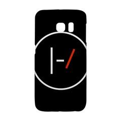 Twenty One Pilots Band Logo Galaxy S6 Edge by Onesevenart