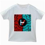 Twenty One Pilots  Kids White T-Shirts