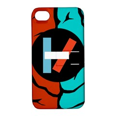 Twenty One Pilots  Apple Iphone 4/4s Hardshell Case With Stand by Onesevenart