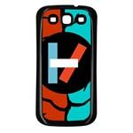 Twenty One Pilots  Samsung Galaxy S3 Back Case (Black)