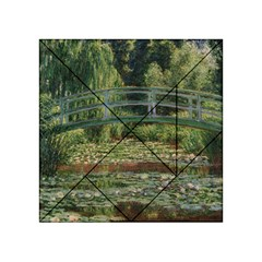 The Japanese Footbridge by Claude Monet Acrylic Tangram Puzzle (4  x 4 ) by ArtMuseum