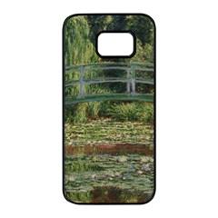 The Japanese Footbridge By Claude Monet Samsung Galaxy S7 Edge Black Seamless Case by ArtMuseum