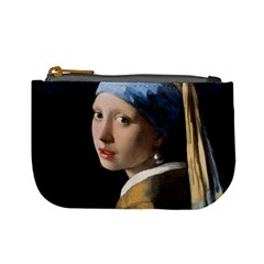 Girl With A Pearl Earring Mini Coin Purses by ArtMuseum