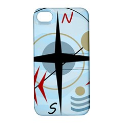 Compass Apple Iphone 4/4s Hardshell Case With Stand by Valentinaart