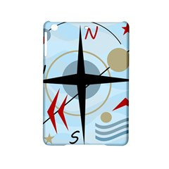 Compass Ipad Mini 2 Hardshell Cases by Valentinaart
