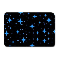 Bright Blue  Stars In Space Plate Mats by Costasonlineshop