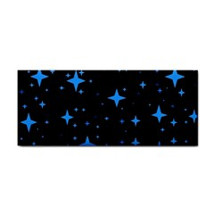 Bright Blue  Stars In Space Cosmetic Storage Cases by Costasonlineshop