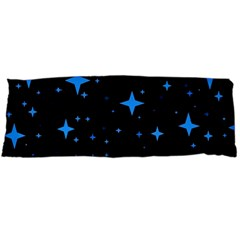 Bright Blue  Stars In Space Body Pillow Case Dakimakura (two Sides)