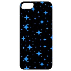 Bright Blue  Stars In Space Apple Iphone 5 Classic Hardshell Case