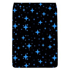 Bright Blue  Stars In Space Flap Covers (l)
