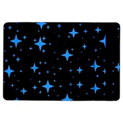 Bright Blue  Stars In Space Ipad Air 2 Flip by Costasonlineshop