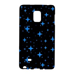 Bright Blue  Stars In Space Galaxy Note Edge