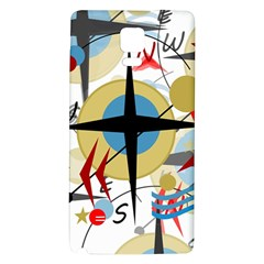 Compass 4 Galaxy Note 4 Back Case by Valentinaart