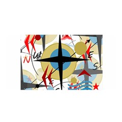 Compass 4 Satin Wrap by Valentinaart