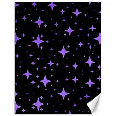 Bright Purple   Stars In Space Canvas 12  X 16   by Costasonlineshop