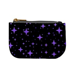 Bright Purple   Stars In Space Mini Coin Purses by Costasonlineshop