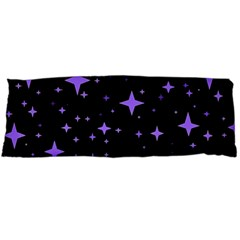 Bright Purple   Stars In Space Body Pillow Case Dakimakura (two Sides) by Costasonlineshop