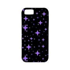 Bright Purple   Stars In Space Apple Iphone 5 Classic Hardshell Case (pc+silicone) by Costasonlineshop