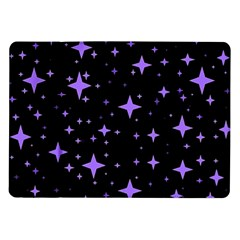 Bright Purple   Stars In Space Samsung Galaxy Tab 10 1  P7500 Flip Case