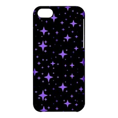 Bright Purple   Stars In Space Apple Iphone 5c Hardshell Case