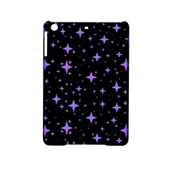 Bright Purple   Stars In Space Ipad Mini 2 Hardshell Cases