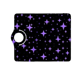 Bright Purple   Stars In Space Kindle Fire Hdx 8 9  Flip 360 Case by Costasonlineshop