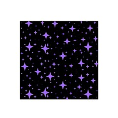 Bright Purple   Stars In Space Satin Bandana Scarf by Costasonlineshop