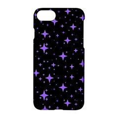 Bright Purple   Stars In Space Apple iPhone 7 Hardshell Case by Costasonlineshop