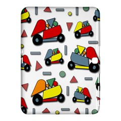 Toy Cars Pattern Samsung Galaxy Tab 4 (10 1 ) Hardshell Case  by Valentinaart